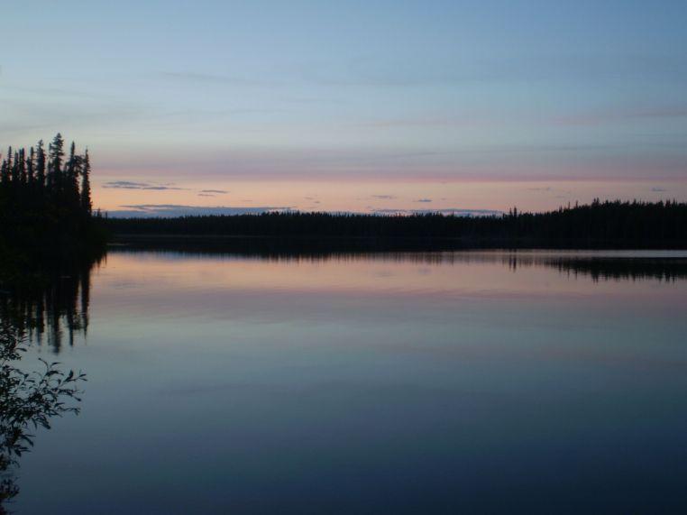 Sunrise in the Yukon