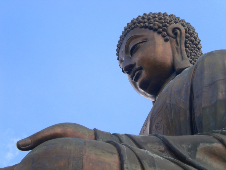 Tian Tan Buddha at the Po Lin Monastery, Hong Kong